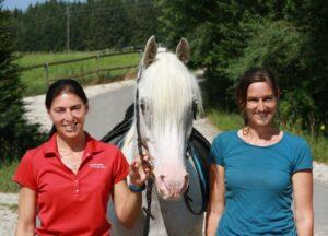 Anja Beran, Asfaloth, and myself in 2012