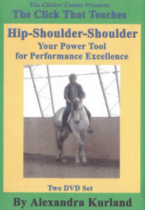 Clicker training DVD hip-shoulder-shoulder