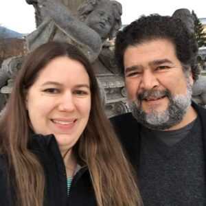 Mary Hunter and Jesus Rosales-Ruiz